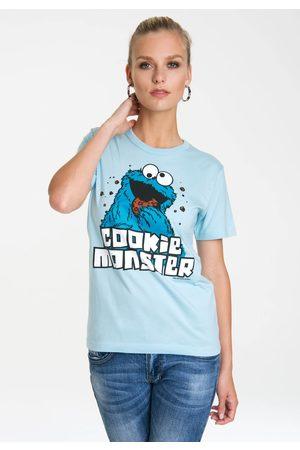 Logoshirt T-Shirt »Krümelmonster«, mit lizenziertem Originalddesign