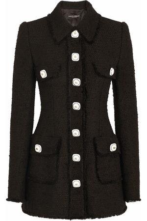 Dolce & Gabbana Jacke mit Knopfleiste