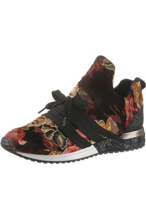 la strada Damen Sneakers - Slip-On Sneaker, mit opulentem Blütenprint