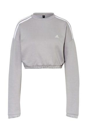 adidas Cropped-Sweatshirt Crop Crew grau