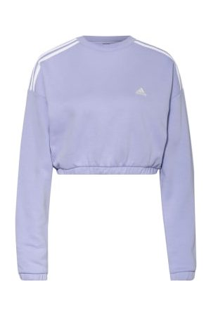 adidas Cropped-Sweatshirt Crop Crew violett