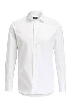 Ermenegildo Zegna Hemd Tailored Fit weiss