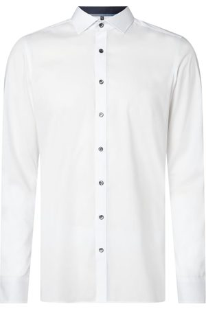 Olymp Herren Lange Ärmel - Slim Fit Business-Hemd mit Stretch-Anteil und extra langem Arm