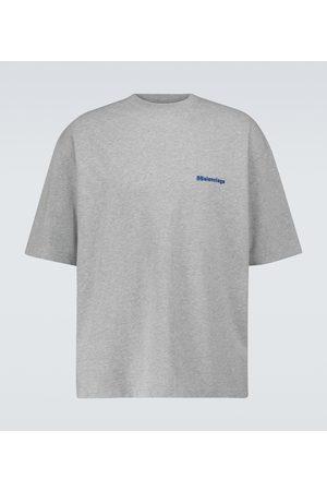 Balenciaga Kurzärmliges Medium-Fit T-Shirt