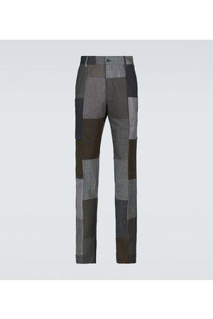 Dolce & Gabbana Patchwork-Hose aus einem Baumwollgemisch
