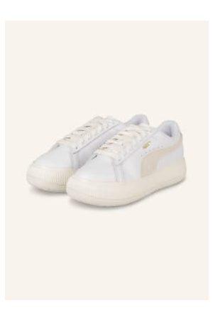 Puma Plateau-Sneaker Mayu weiss