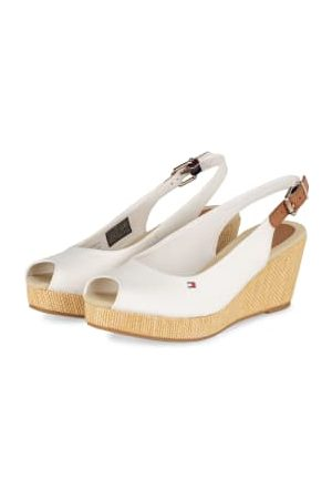 Tommy Hilfiger Wedges Iconic Elba weiss