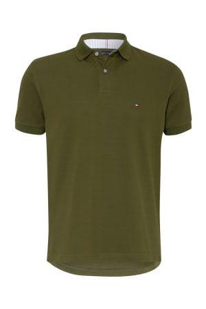 Tommy Hilfiger Piqué-Poloshirt Regular Fit gruen