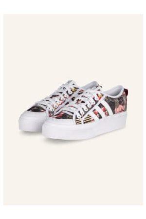 adidas Originals Plateau-Sneaker Nizza Platform weiss