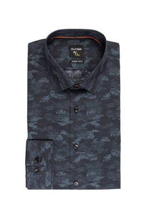 Olymp Hemd No. Six Super Slim schwarz
