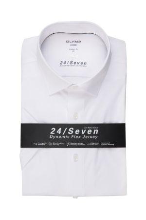 Olymp Kurzarm-Hemd Luxor 24/7 Modern Fit weiss
