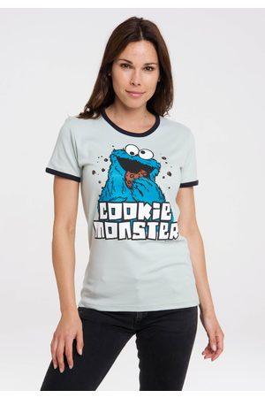 LOGOSHIRT T-Shirt »Krümelmonster«, mit lizenziertem Originaldesign