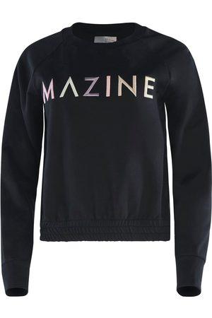 MAZINE Sweatshirt »Viola«, süßer Sweater mit großem Logo