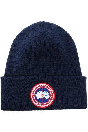 Canada Goose Herren Hüte - Gerippte Arctic Disc Strickmütze