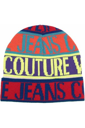 Versace Jeans Couture Beanie mit Logo