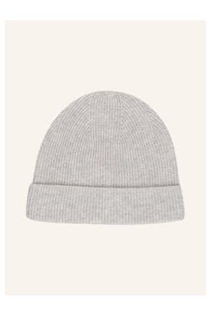 Mrs & HUGS Damen Mützen - Cashmere-Mütze grau
