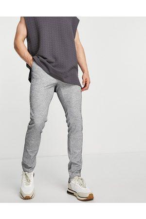 ASOS DESIGN – Elegante, eng geschnittene Hose aus geripptem Jersey in mit Kordelzug in der Taille, Kombiteil