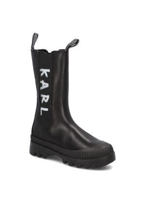 Karl Lagerfeld TREKKA II BRUSH LOGO GORE MIDI BOOT