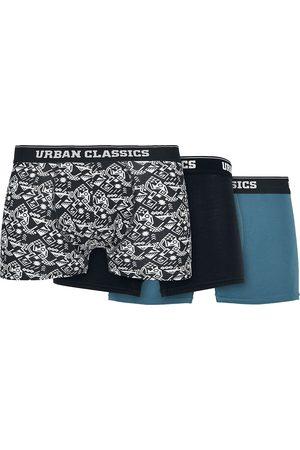 Urban classics Herren Boxershorts - Organic Boxer Shorts 3 Pack Boxershort multicolor