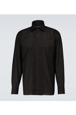 Tom Ford Exklusiv bei Mytheresa – Faltenhemd aus Baumwolle