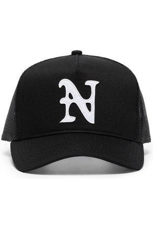 Nahmias Herren Hüte - Baseballkappe mit Logo-Stickerei