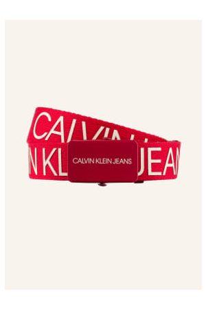 Calvin Klein Gürtel - Gürtel pink