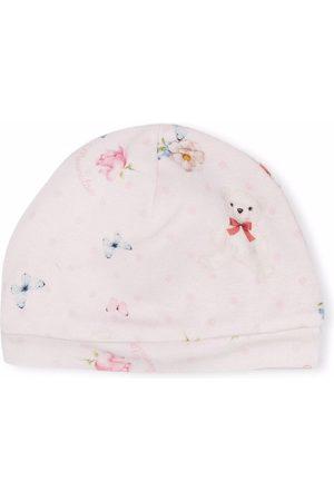 Monnalisa Mützen - Mütze mit Teddy-Print