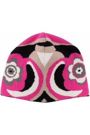 Emilio Pucci Mädchen Hüte - Mütze mit abstraktem Print