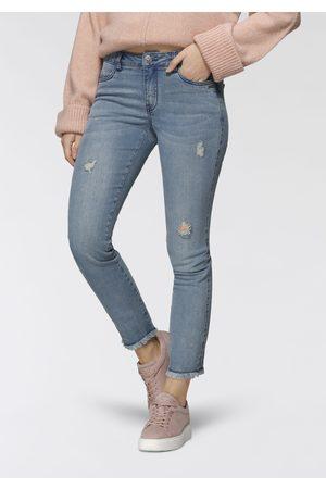 Bruno Banani Destroyed-Jeans, mit Fransensaum - NEUE KOLLEKTION