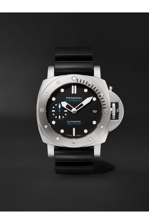 Panerai Submersible Automatic 42mm Stainless Steel and Rubber Watch, Ref. No. PAM00973
