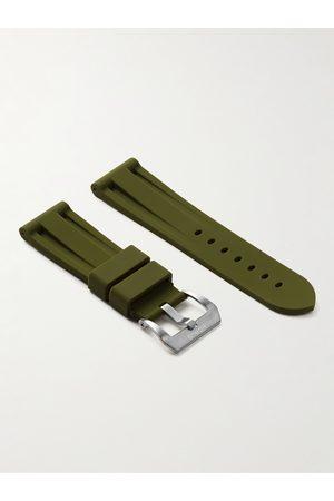 Horus Watch Straps Herren Uhren - 24mm Rubber Watch Strap