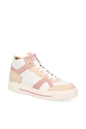 Tamaris Damen Sneakers - Sneaker Mid Cut - weiss