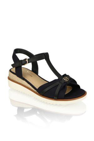 Tom Tailor Damen Sandalen - Textil Klassische Sandalen