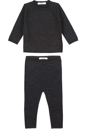 Bonpoint Baby Set aus Pullover und Hose Taddeo