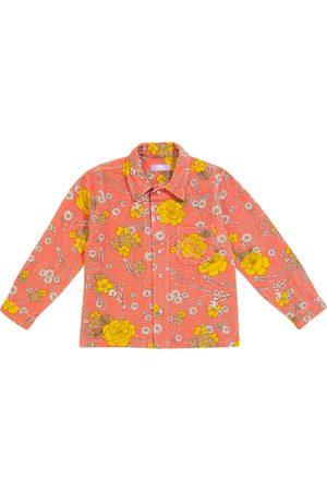ERL Kids Hemd aus Baumwoll-Cord