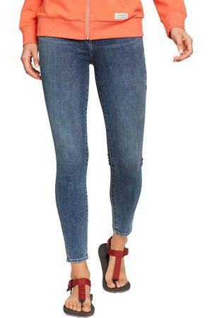 Eddie Bauer Damen High Waisted - Voyager Jeans - High Rise - Skinny Damen Gr. 4