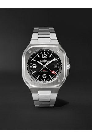 Bell & Ross Herren Uhren - GMT Automatic 41mm Stainless Steel Watch, Ref. No. BR05G-BL-ST/SST