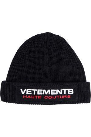Vetements Herren Hüte - Mütze mit Logo-Stickerei