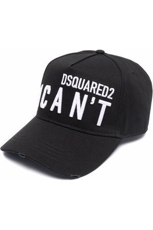 "Dsquared2 Herren Hüte - Baseballkappe mit ""I Can't""-Slogan"