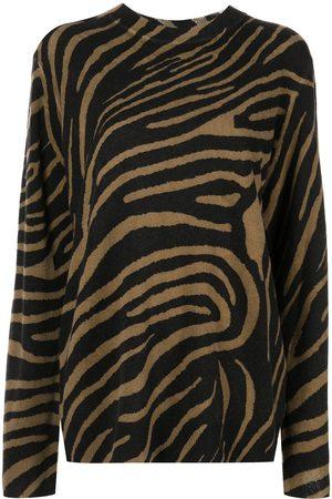 Equipment Robinne Pullover mit Zebra-Print
