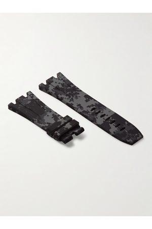 HORUS WATCH STRAPS Herren Uhren - 20mm Rubber Integrated Watch Strap