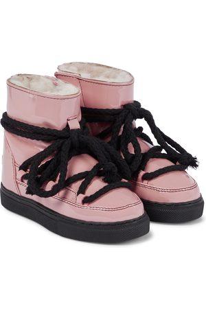 INUIKII Kids Mädchen Stiefeletten - Ankle Boots Rain aus Lackleder