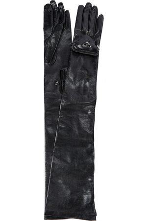 Prada Handschuhe aus Leder