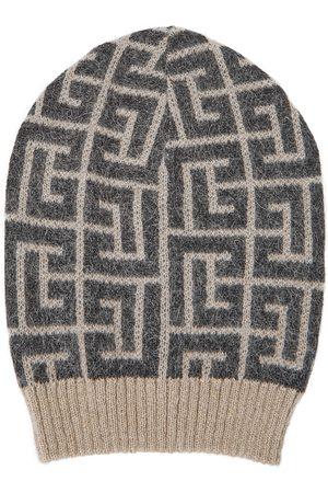 Balmain Damen Hüte - Beanie aus einem Wollgemisch