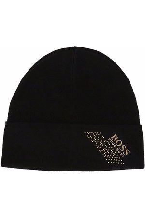 HUGO BOSS Mütze mit Logo-Print