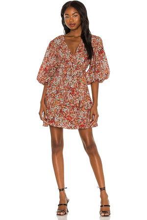 Minkpink Gabae Wrap Mini Dress in . Size M, S, XS.