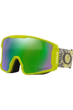 Oakley Sonnenbrillen - Line Miner L Kazu Sig Green Floral Goggle
