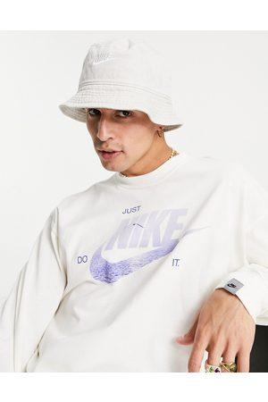Nike – Verwaschener Anglerhut in Sand-Neutral