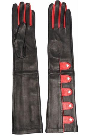 Manokhi Damen Handschuhe - Zweifarbige Handschuhe
