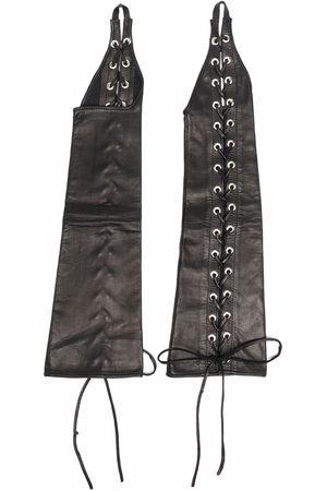 Manokhi Damen Handschuhe - Handschuhe mit Schnürung
